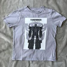 T-shirt gris manches courtes garçon GapKids 6-7 ans - Transformers -