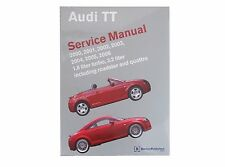 NEW Audi TT Quattro 2000-2006 Service Repair Manual Bentley AU 800 5006