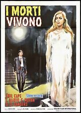 I MORTI VIVONO MANIFESTO CINEMA HORROR THE SWEET SOUND OF DEATH MOVIE POSTER 2F