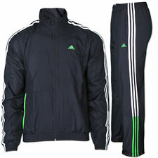 adidas Herren Trainingsanzug BTS Logo Woven Tracksuit schwarz