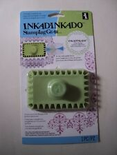 INKADINKADO STAMPING GEAR RECTANGLE COG BNIP *LOOK*