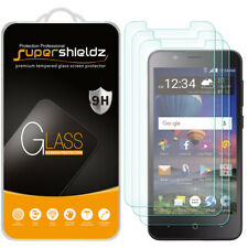 3X Supershieldz for ZTE ZFive C LTE Tempered Glass Screen Protector Saver