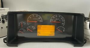 2010 BLUE BIRD BBCONVENTIONAL USED DASHBOARD INSTRUMENT CLUSTER FOR SALE (MPH)