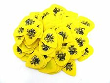 Dunlop Guitar Picks  Tortex  72 Pack .73 MM  Yellow   Medium (418R73)