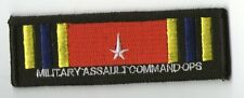 PARCHE STAR TREK MILITARY ASSAULT COMMAND OPS  PATCH