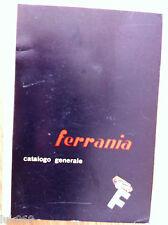 CATALOGO GENERALE FERRANIA 1951 - CINEMA - FOTOGRAFIA RARO!!!