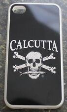 Calcutta Case for iPhone 4 4S CIPC-2 Skull & Crossbones Fishing Silver Black NEW