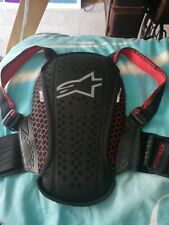 Alpinestars Nucleon KR-Y Youth Back Protector Black Red