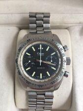 Clebar / Zodiac Military Chronograph Watch Original Bracelet And Box Outstand