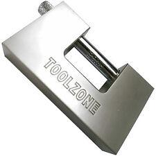 Heavy duty100mm steel Shutter Padlock Nickel Plated with 3 keys Shutter Padlocks