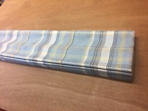 Chatham Glyn Skye Faux Wool Tartan Roman Blind,Made To Measure, All Cols.