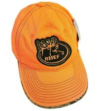 RMEF Rocky Mountain Elk Foundation Hunting Hat Ballcap Fluoresce Orange Realtree