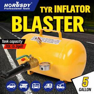 5 Gallon / 20L Bead Blaster Tyre Air Tank Tire Inflator Seater 4WD Car Shop Tool