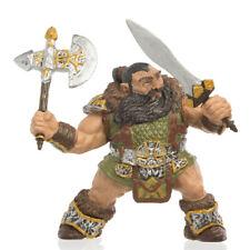Papo Dwarf Warrior Fantasy Figures Toy Sword Axe Fantasy Fiction Imagination