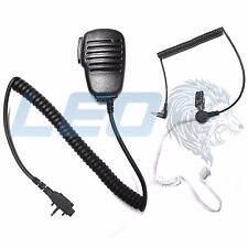 Speaker Mic and 3.5mm Listen Only Earpiece for Vertex VX231 VX351 VX354 Radios