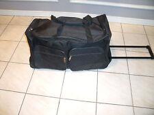 "Wheeled Duffel Bag With Telescopic Handle 23"" New"
