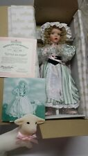 "ashton drake galleries porcelain doll ""Little Bo Peep"""