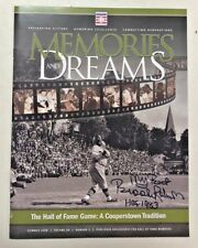 Brooks Robinson Autograph Hall Of Fame Memories & Dreams Magazine Babe Ruth