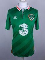 mens umbro ireland football top size M eire tshirt top irish sport