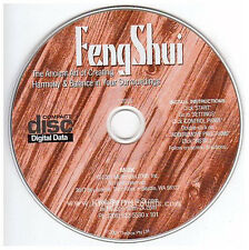 FENG SHUI - Home & Health Improvement Guide for Windows PC Software - NEW CD