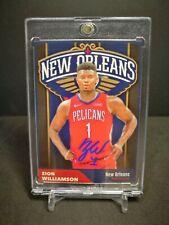 NBA Basketball Zion Williamson Customized Card Printed Auto Rookie 2019