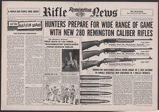 1958 REMINGTON 740 Woodmaster Auto, 760 Gamemaster Slide 725 Bolt Rifle Ad