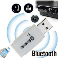 Car USB Bluetooth Wireless Stereo Audio Music Speaker Adapter Pretty M1G1 Y6S5