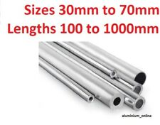 ALUMINIUM ROUND TUBE 35mm 38mm 41mm 45mm 48mm 51mm 57mm 64mm 70mm select size