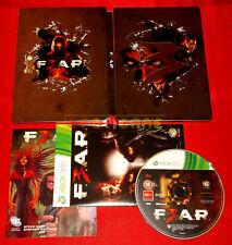 F.3.A.R. Steelbook con Gioco XBOX 360 FEAR 3 Versione Italiana ○ USATO - FG