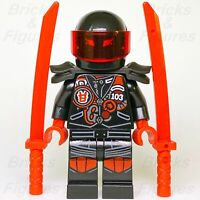 Ninjago LEGO® Mr. E with Biker Vest Sons of Garmadon Minifig 70639 70643 Genuine