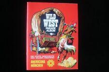 Americana Wild West Parade sehr gutes Leeralbum mit eingehefteter Abstreichliste
