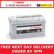 Bosch Car Battery UK Ref 019 12V 100Ah Bosch Code S5013 - 5 Yr Gty - Next Day