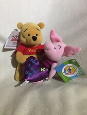 Disney Soft Toy Beanie Pooh Friendship ( Pooh And Piglet Best Friends) 1999