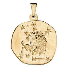 Colgante Signo Del Zodíaco Leo 333 Oro Amarillo de Zodiaco