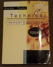 Technical Report Writing, Sixth Edition Riordan Pauley