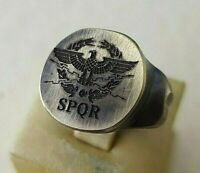 Ring SPQR- Ancient Bronze Legio -Vintage-Antique ROMAN RARE