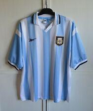 ARGENTINA NATIONAL TEAM 1999/2000 VINTAGE HOME SHIRT JERSEY KIT REEBOK SIZE (XL)