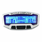 Wired LCD Bicycle Bike Cycling Computer Odometer Speedometer Velometer AU