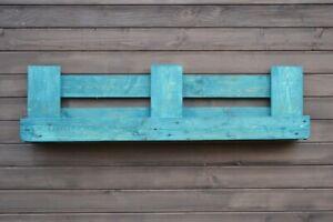 Wand Pflanzer Kräuter Blumen Kasten Topf Behange Ständer Halter Holz Europalette