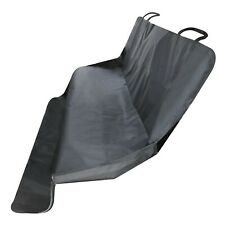 Dog Hammock Pet Car Seat Cover - Pet Mat Protects Vehicle from Dirt - Black