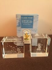 Lot Of 2 CLASSIC POOH Crystal Treasures #56452 + Pooh After Honey