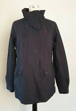 Joules Dakota size 10 navy waterproof hooded coat jacket