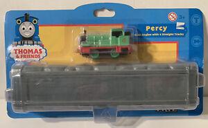 NEW Thomas And Friends PERCY w/ 4 Straight Tracks ERTL GULLANE 2001 00222-72HE