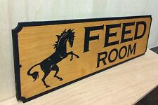 Personalized wood sign.Horse Stall. Any text.LASER ENGRAVED.GIFT.