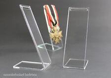 3 Stück Ordensständer Ständer für Orden an Band ohne Tragenadel groß Q5684S