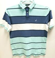 Nautica Mens Size 2XL Short Sleeve Polo
