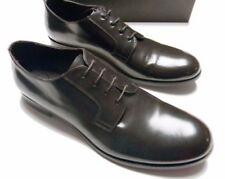 EMPORIO ARMANI Men's CLASSIC DERBY X4C182 Leather LACE-UP Brown Shoes - Size 7M