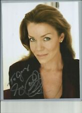 Claudia Christian Hand Signed 8x10 Color Photo
