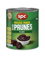 3kg SPC Pitted Prunes In Juice - Quick Post - Aussie Owned & Operated