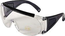 Allen Over Shooting - Safety Glasses Clear 2169 Fit over Prescription Glasses